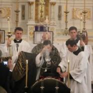 Wake & Funeral of Fr. Kenneth Walker, FSSP
