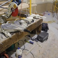 Drywall, Electrical, and Wainscotting